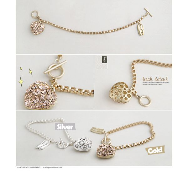Ballet Shoes Pattern Embellish Bracelet