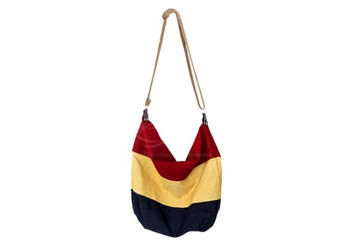 Stripes Canvas Bag