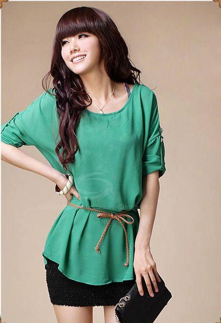 Elegant Off-The-Shoulder Long Sleeve Chiffon Blouse + Floral Print Vest Women's Twinset