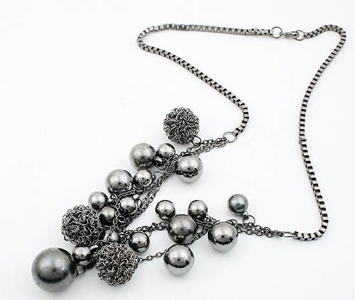 Fashional Style Emebellished Multi-Layered Beads Necklace For Women