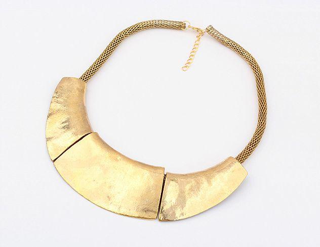 Alloy Splice Pendants Choker Necklace