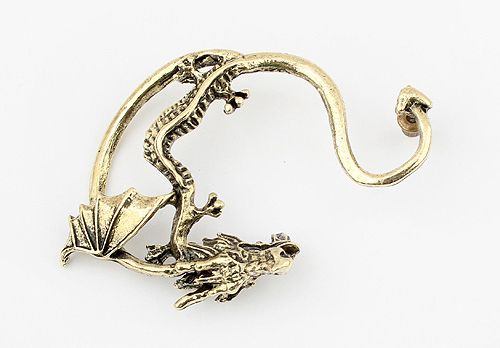 Vintage Alloy Dragon Shape Earring