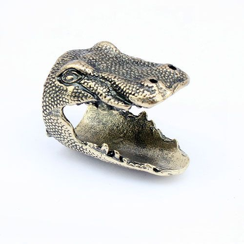 Retro Style Dinosaur Head Shape Ring