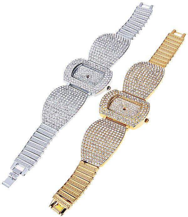 Tivaye Quartz Watch New Style Design Steel Watch Band for Women (Gold)