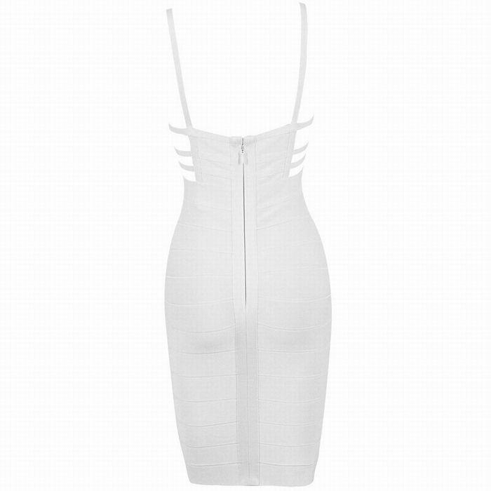 Cut Out Slip Bandage Mini Club Dress