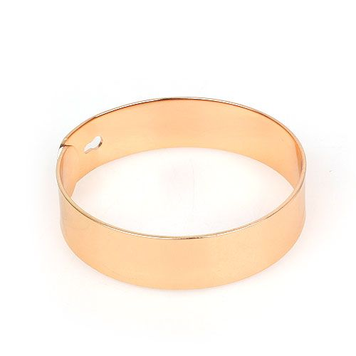 Punk Style Golden Color Cuff Bracelet For Men