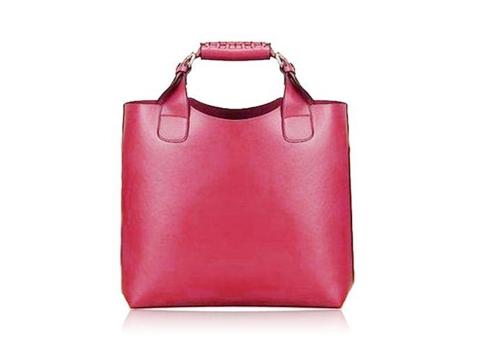 Vintage Tote Shopping Bag Handbag Handle shopping Black
