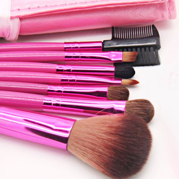 High-end Brush Sets Soft Cosmetic Face Make-up Brush Powder Brush for Lady (10Pcs)
