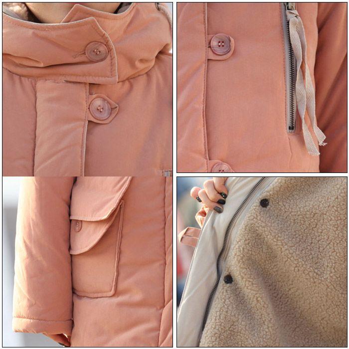 [39% OFF] Stylish Hooded Long Sleeve Zippered Coat For