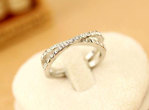 Beads Cross Round Ring