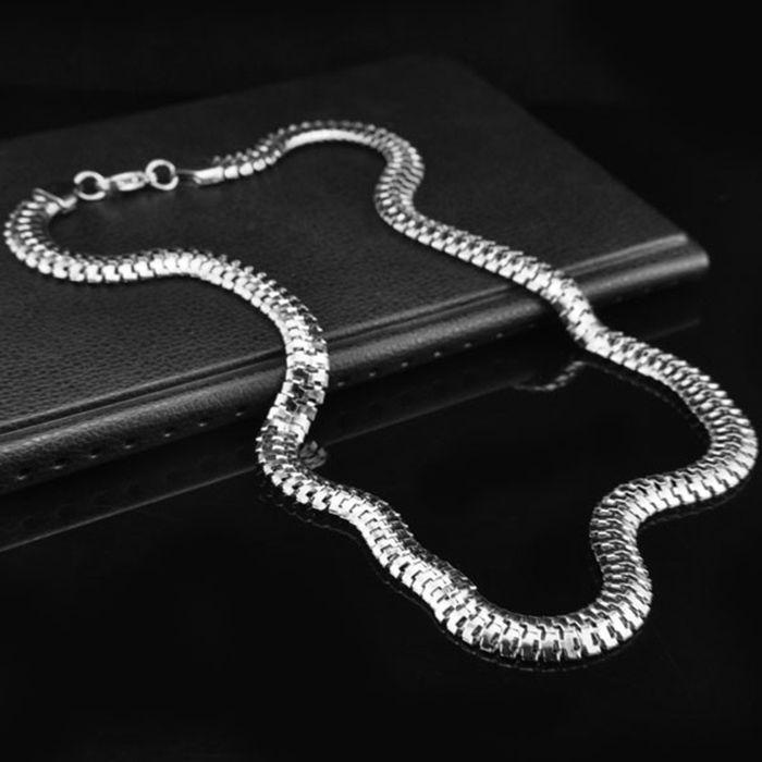 Snake Bone Shape Alloy Necklace