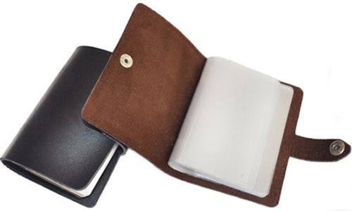 Convenient and Useful Leather Card Bag