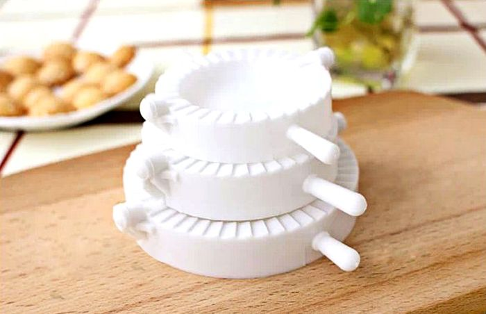 Environment Protection 3PCS Plastic Dumplings Moulds