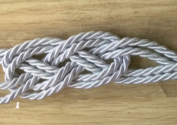Vintage Fluorescence Woven Wrap Bracelet