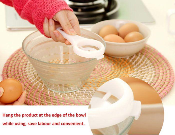 Practical Egg Yolk White Separator Household Supplies Gadgets Home Necessities