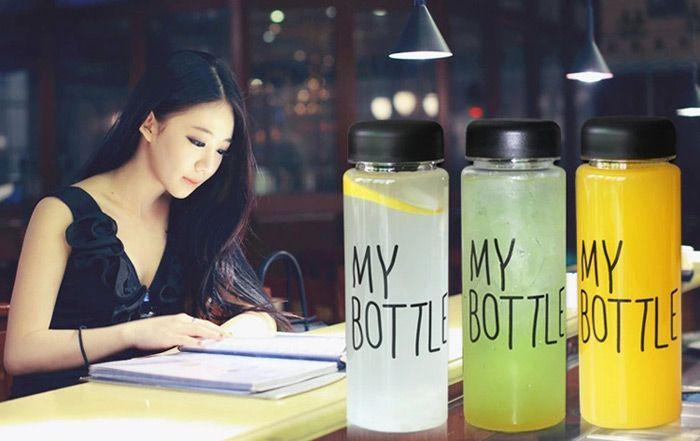 My Bottle 500lm Fruit Beverage Water Milk Bottle