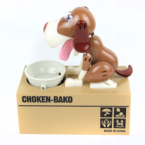 18CM Choken Bako Dog Saving Pot Coin Bank for Coin Collection