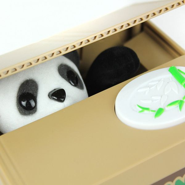 11.5CM Itazura Coin Bank Panda Saving Pot Coin Bank for Coin Collection
