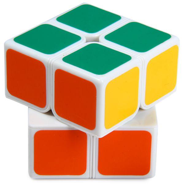 Shengshou 7106A - 3 Magic Cube Aurora Creative 2 x 2 x 2 Tuning Spring Pocket Brain Teaser Toy