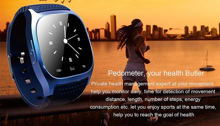 RWATCH M26s Smart Sports Bluetooth Watch Sleep Management Pedometer Dialing SMS