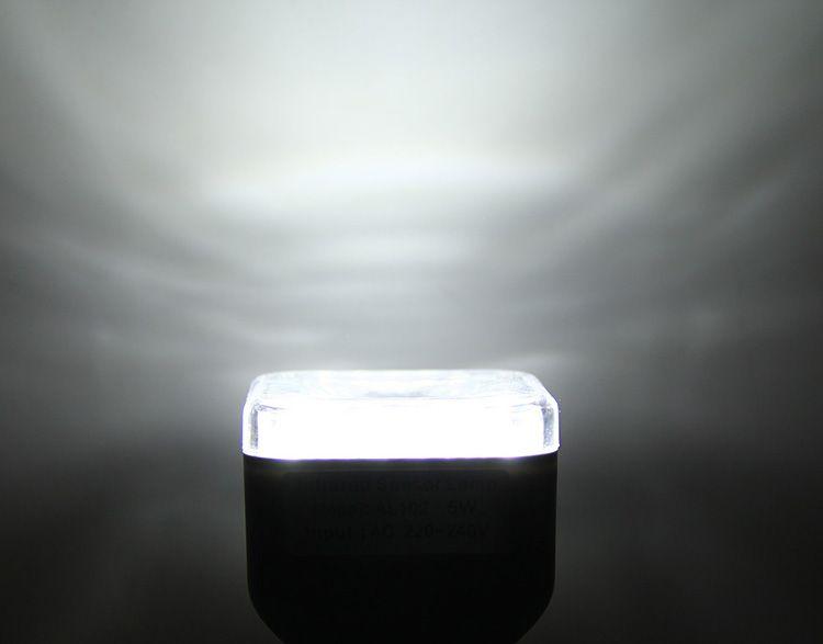 AL102 Infrared Human Body Inductive E27 Base 5W Lamp 39 LEDs Auto PIR Light - 220V 230LM