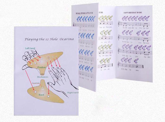 12 Holes New Ocarina Ceramic Alto C Legend of Zelda Ocarina Flute Instrument