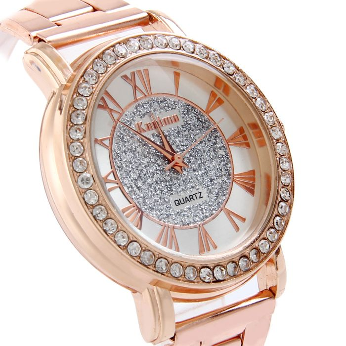 Kanima Diamond Lady Quartz Watch with Stainless Steel Body