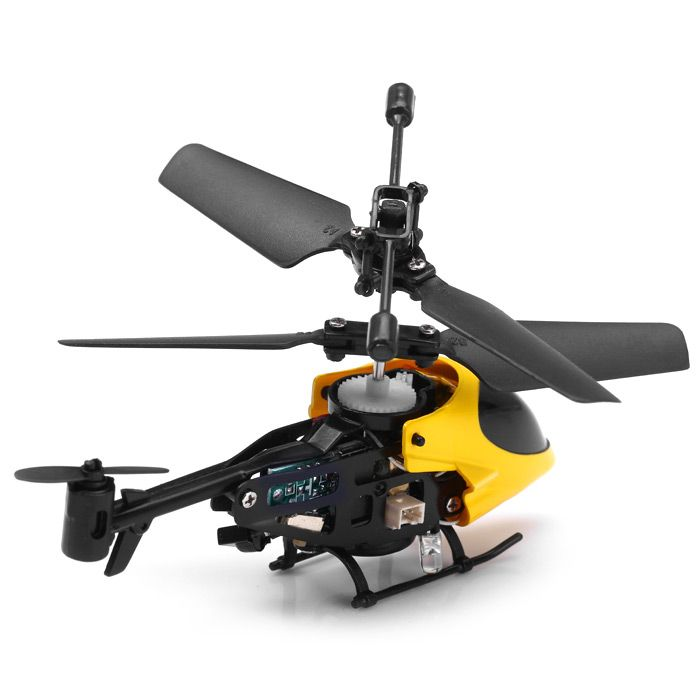 QS QS5013 2.5CH Mini Micro Remote Control RC Helicopter Children Toy