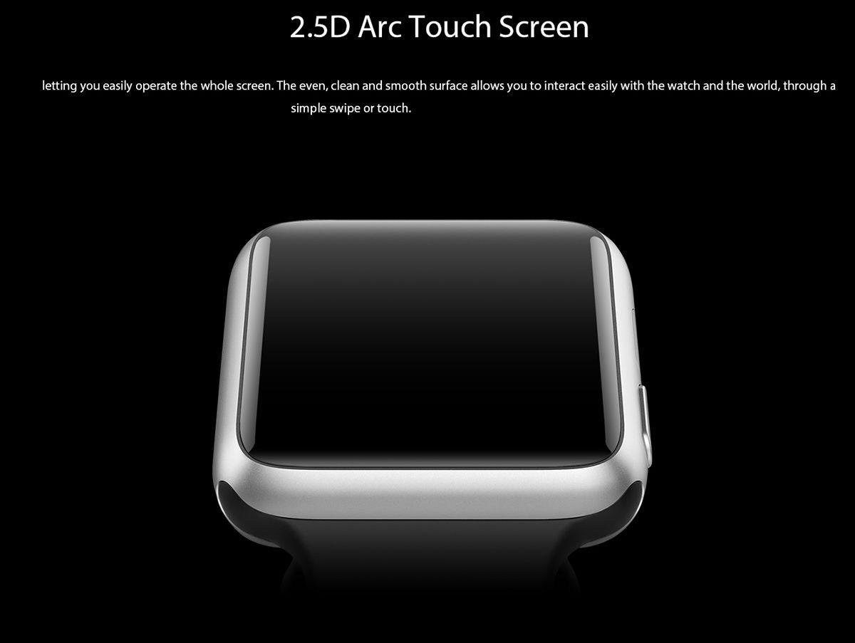 uWear Bluetooth 4.0 Smart Watch Dialer SMS Pedometer Function