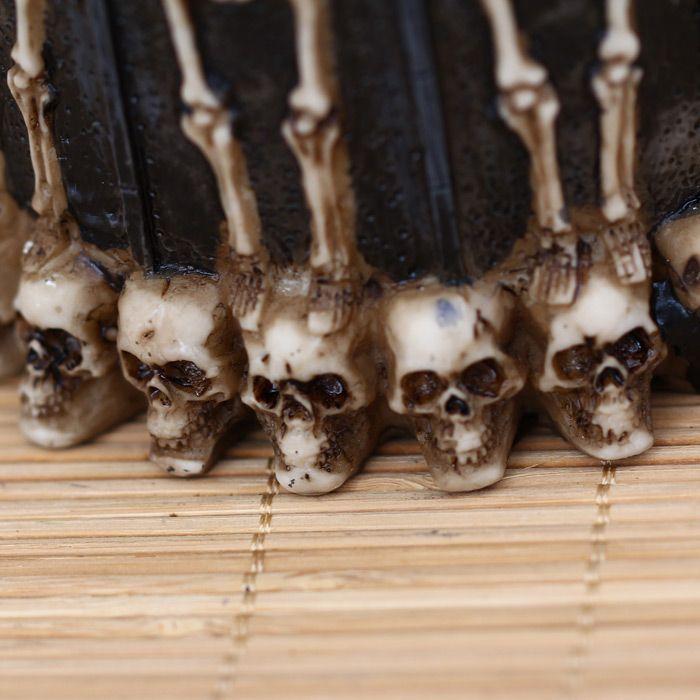 Novel Disciple Skeleton Skull Design Mug Retro Grail Decoration for Party