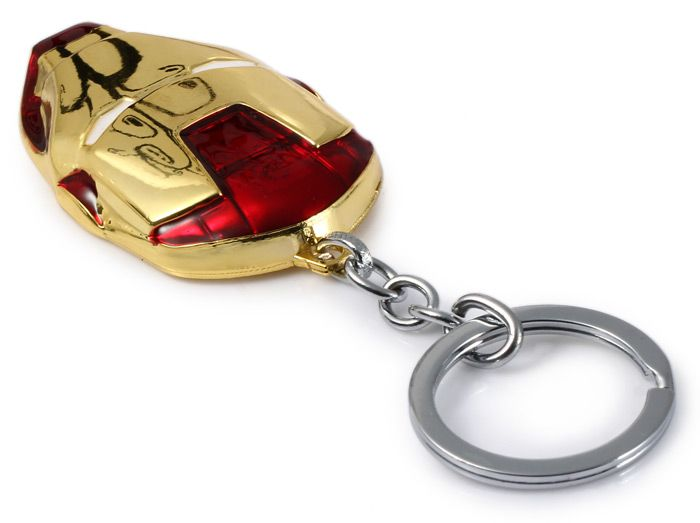 Portable The Avengers-Iron Man Style Metal Key Chain Cool Props