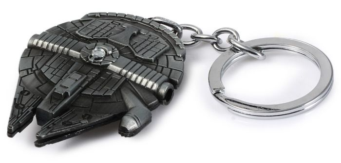 Portable Vess Millennium Falcon A Style Metal Key Ring