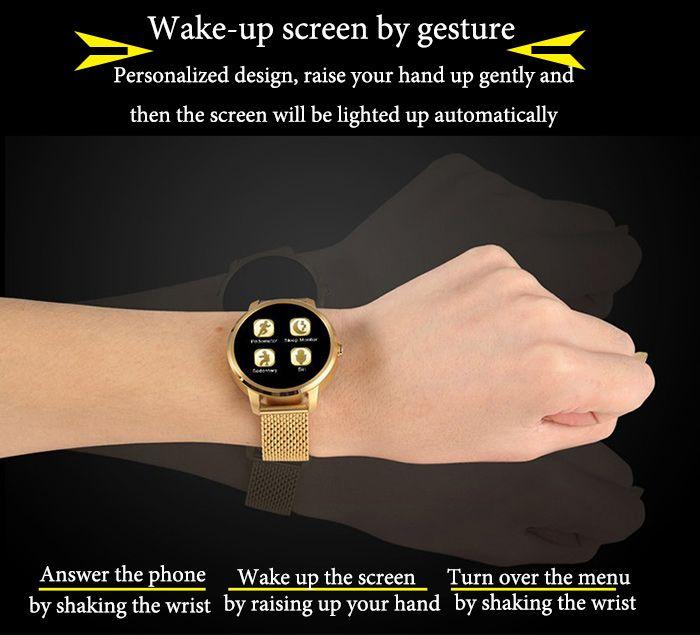 Ordro V360 MTK2502 Siri Function Smart Watch