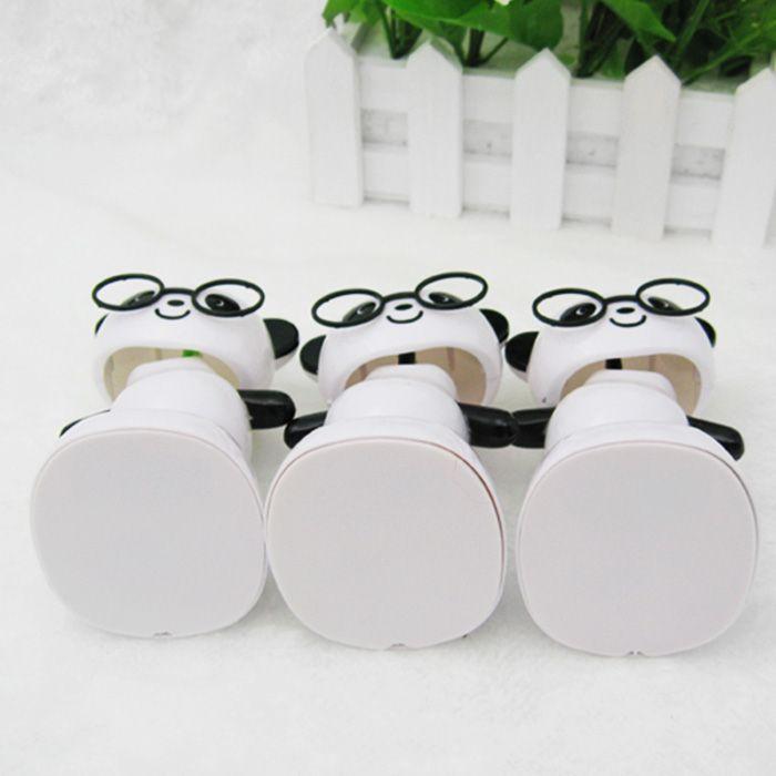 Solar Energy Shaking Panda House Decoration Christmas Gift