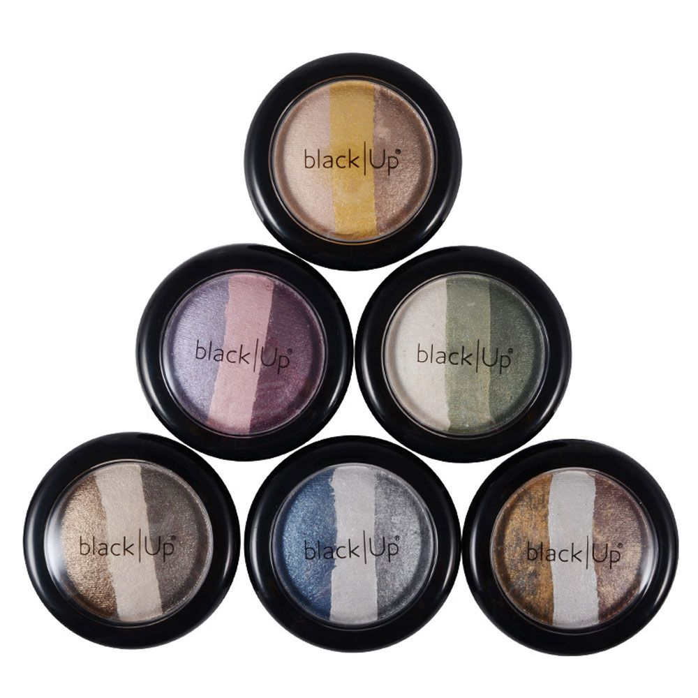 Classical Three Color Porcelain Eye Shadow