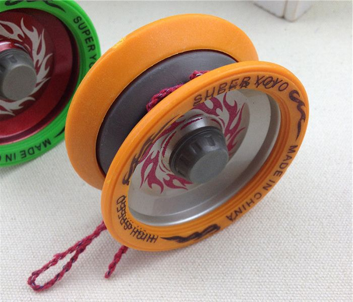 HAIXIANG Classic Yoyo Ball Aluminium Alloy Cool Gift for Children