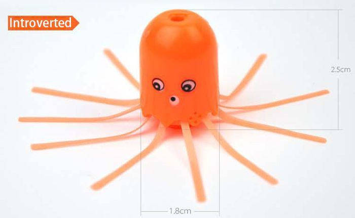 Cute Magical Jellyfish Pet ABS Children Learning Toy Christmas Gift