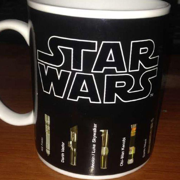 Thermal Discoloration Mug Creative Temperature Change Ceramic Cups