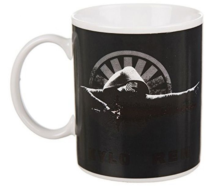 Kylo Ren Thermal Discoloration Mug Creative Temperature Change Ceramic Cups