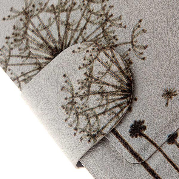 Kinston Dandelion Pattern PU Leather Full Body Cover with Stand and Card Holder for iPhone 6 Plus - 5.5 inch
