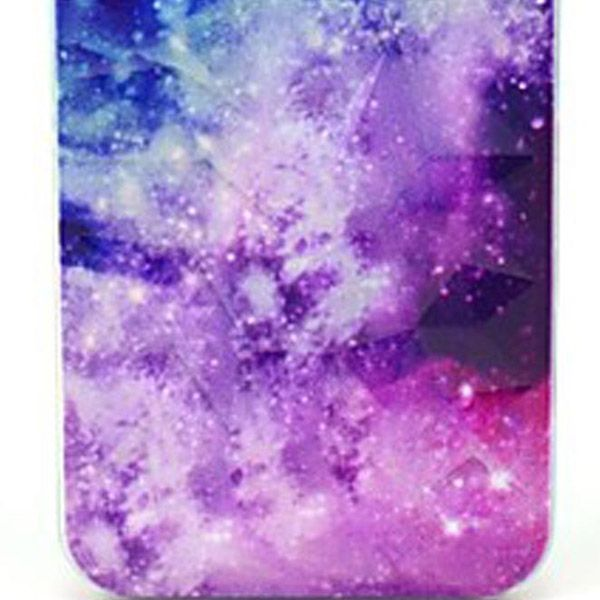 Kinston The Milky Way Pattern PC Phone Back Cover Case for iPhone 5 5S SE