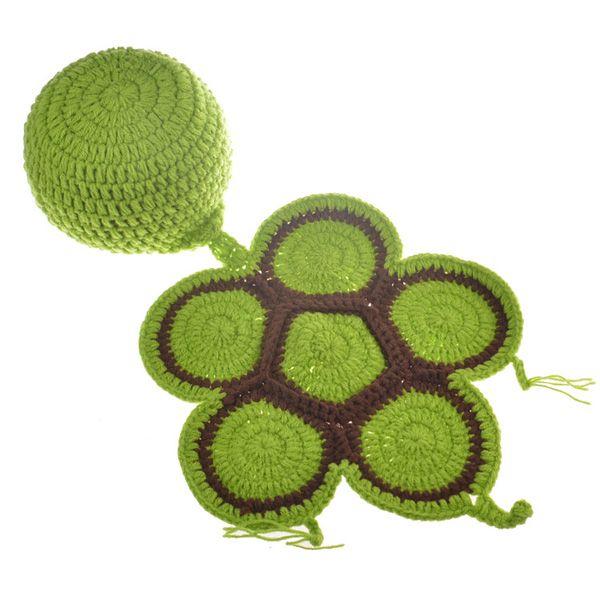 Knitting Pattern For Tortoise Coat : Green Fashion Tortoise Style Handmade Crochet Knitting ...