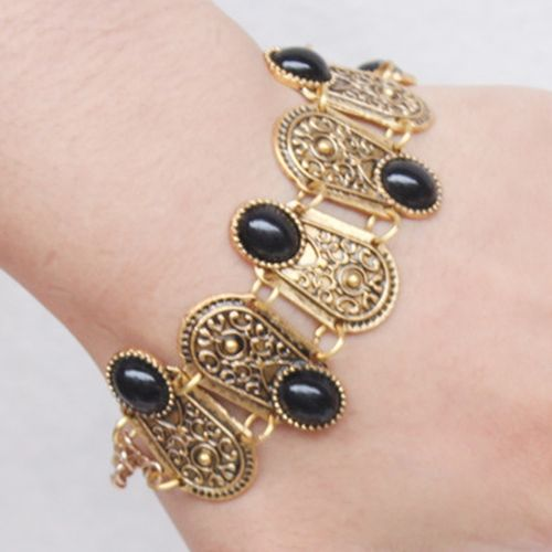 Gorgeous Faux Gem Oval Bracelet For Women