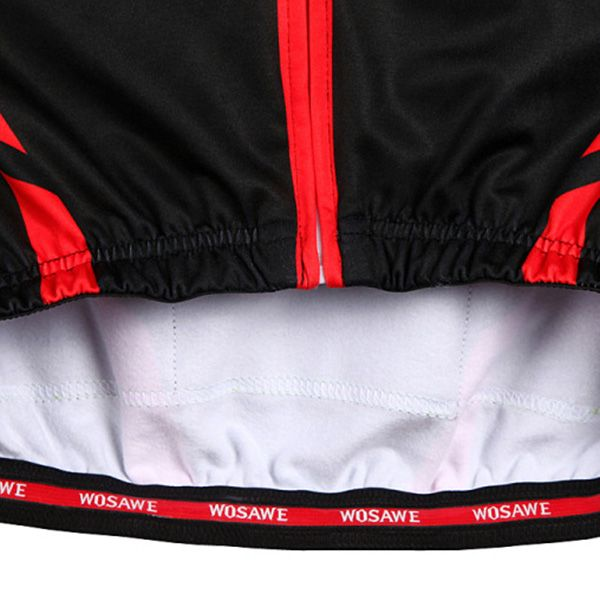 Fashionable Long Sleeve Warmth Thermal Fleece Cycling Jacket For Unisex