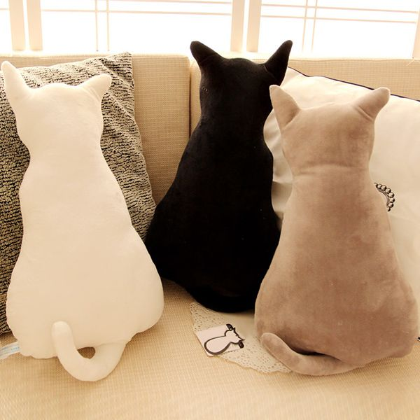 Creative Home Decoration Cucoloris Cat Shape Design Pillow