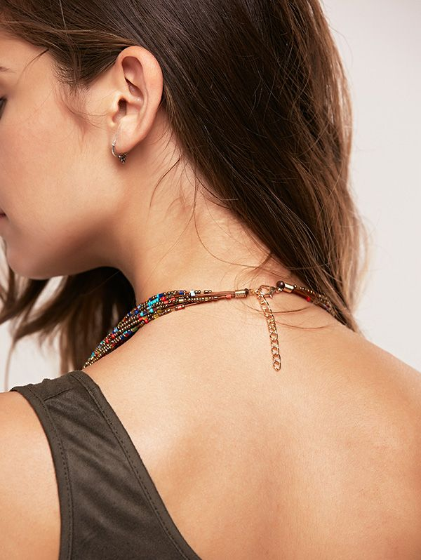Bohemia Beads Multilayer Chain Necklace