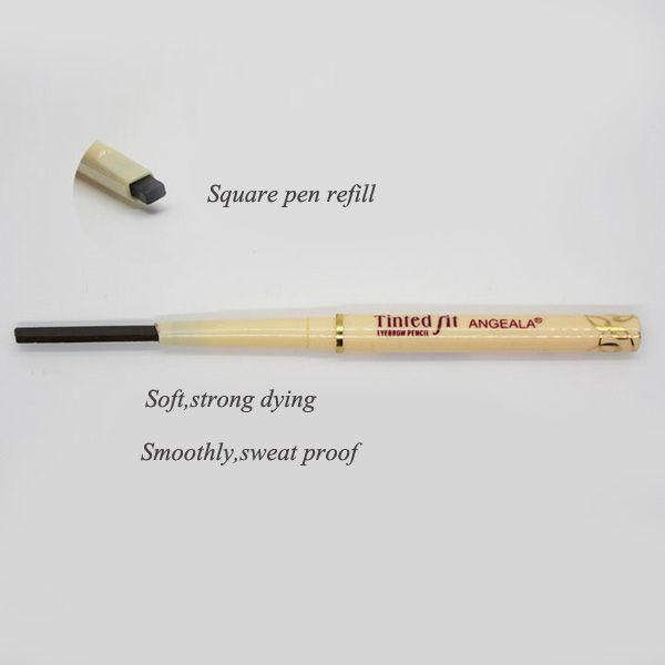 Stylish Long Lasting Waterproof Rotary Automatic Eyebrow Pencil