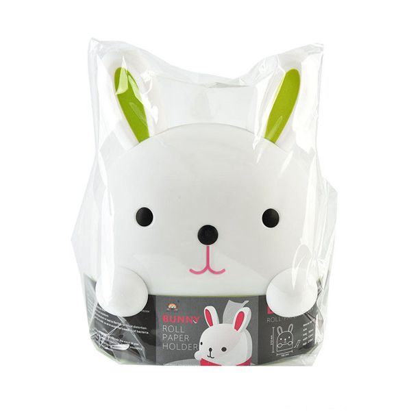 Cute Rabbit Removable Paper Napkin Home Decorated Cartoon Tissue Box