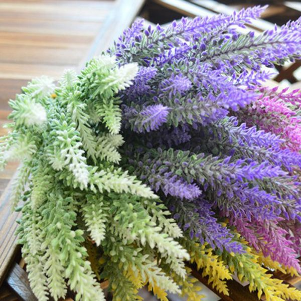 Countryside Style Room Decor Lavander Bouquet Artificial Flower