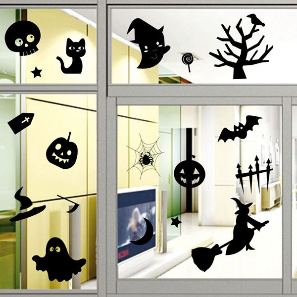 Halloween Series Removable Waterproof Room Wall Sticker